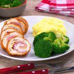 Cordon Bleu Rezept mit Hähnchen und Béchamel ist ein elegantes Mittagessen