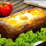 Falscher Hase mal anders: Ein Hackbraten Rezept gefüllt mit Schinken, Käse und Ei