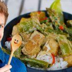 Grünes Thai Curry mit selbstgemachter Curry Paste! 🍲