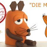 Maustorte / Die Maus / Sendung mit der Maus / Fondanttorte / Motivtorte / Backen mit Evas Backparty