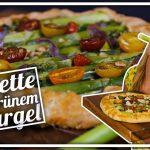 Spargel-Galette mit Ricotta-Creme | Spargel mal anders!  | Felicitas Then | Pimp Your Food