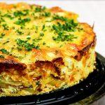 KARTOFFELKUCHEN mit Chorizo - Frittata XXL