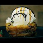 Churros mit Eis - ein Brandteig Rezept für ein kreatives Dessert