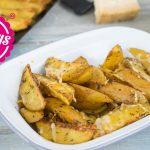 Parmesan-Kartoffeln aus dem Ofen / Was koche ich heute? / Sallys Welt