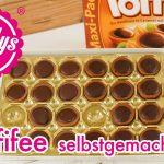 Toffifee selber herstellen / mit Nougat gefüllte Karamellbonbons / nachgemacht / Sallys Welt