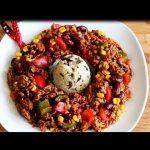 Buntes CHILI CON CARNE | amerikanische Küche